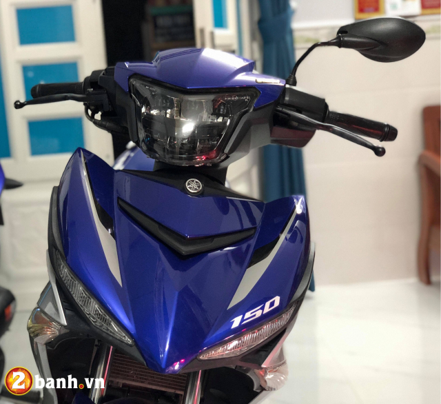 Den pha LED 2 tang Yamaha Exciter 150 Sporty 2019 moi - 13