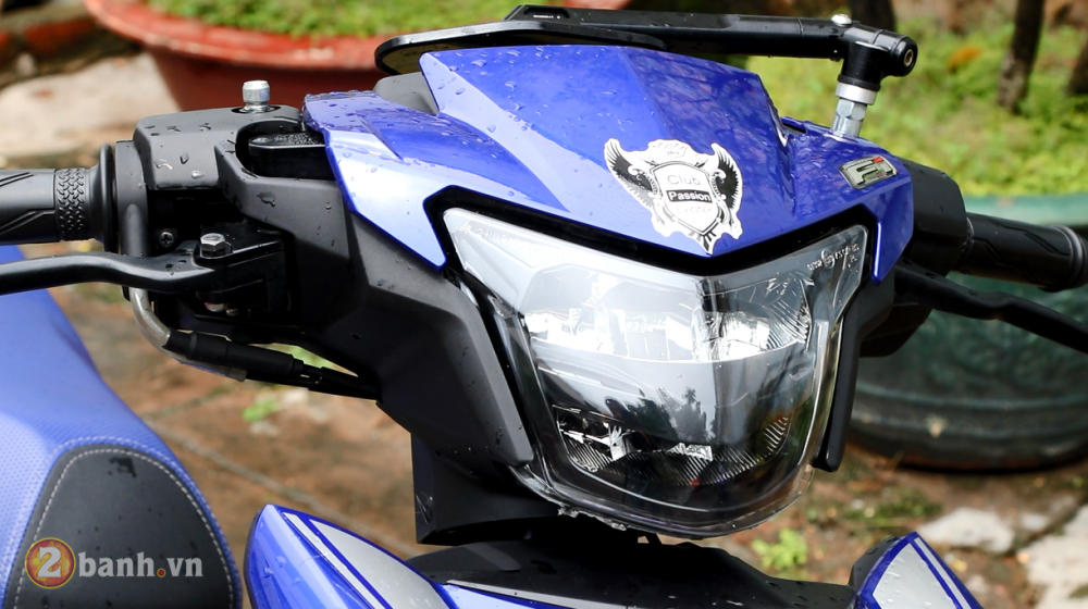 Den pha LED 2 tang Yamaha Exciter 150 Sporty 2019 moi - 7