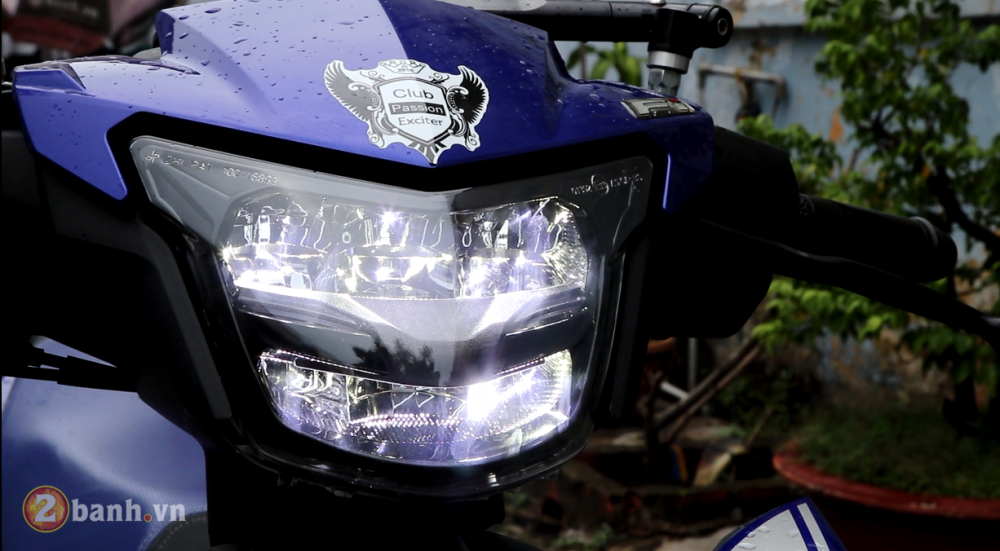 Den pha LED 2 tang Yamaha Exciter 150 Sporty 2019 moi - 10