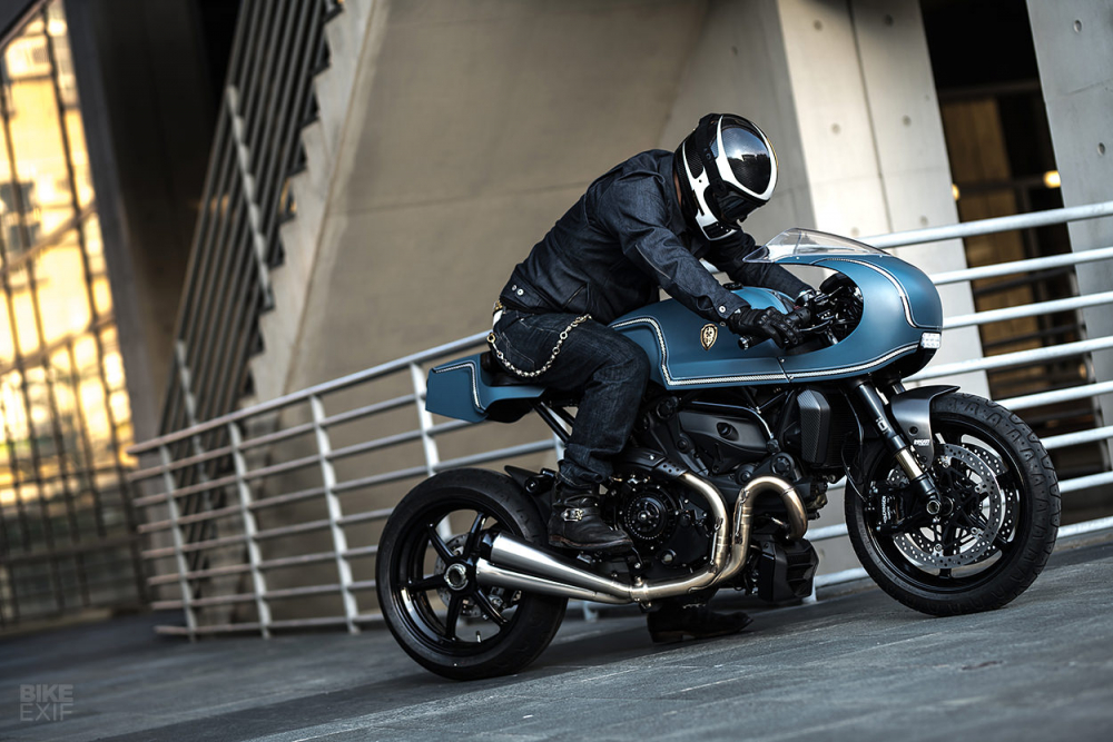 Ducati Monster 1200 S do cafe racer theo phong cach Sportclassic - 14