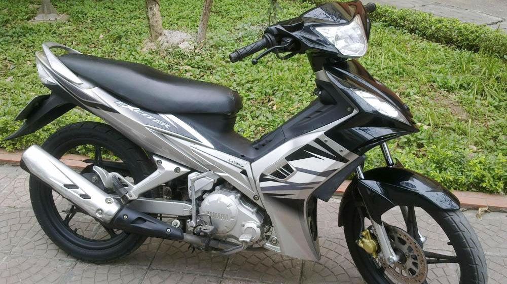 Exciter 135 do full option trang bi dan chan Hiem den tu Japan