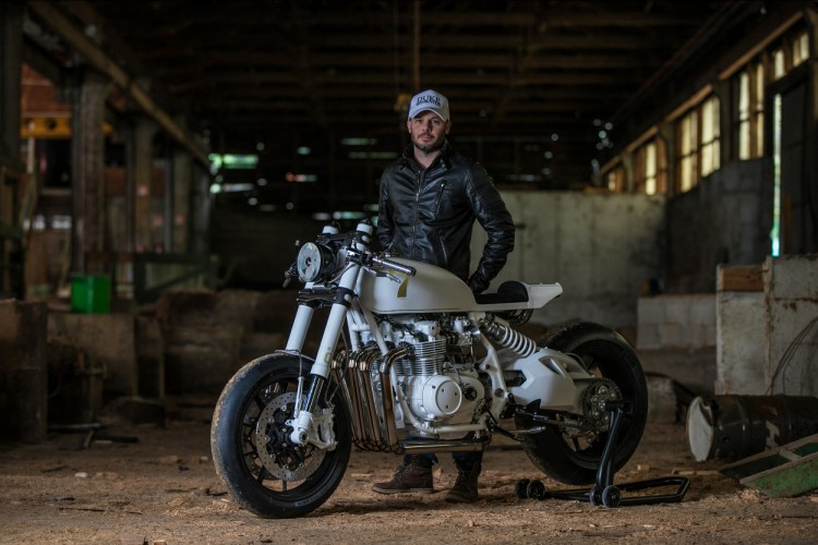 Honda CB500 Four do Cafe Racer den tu Duke Motorcycles - 23