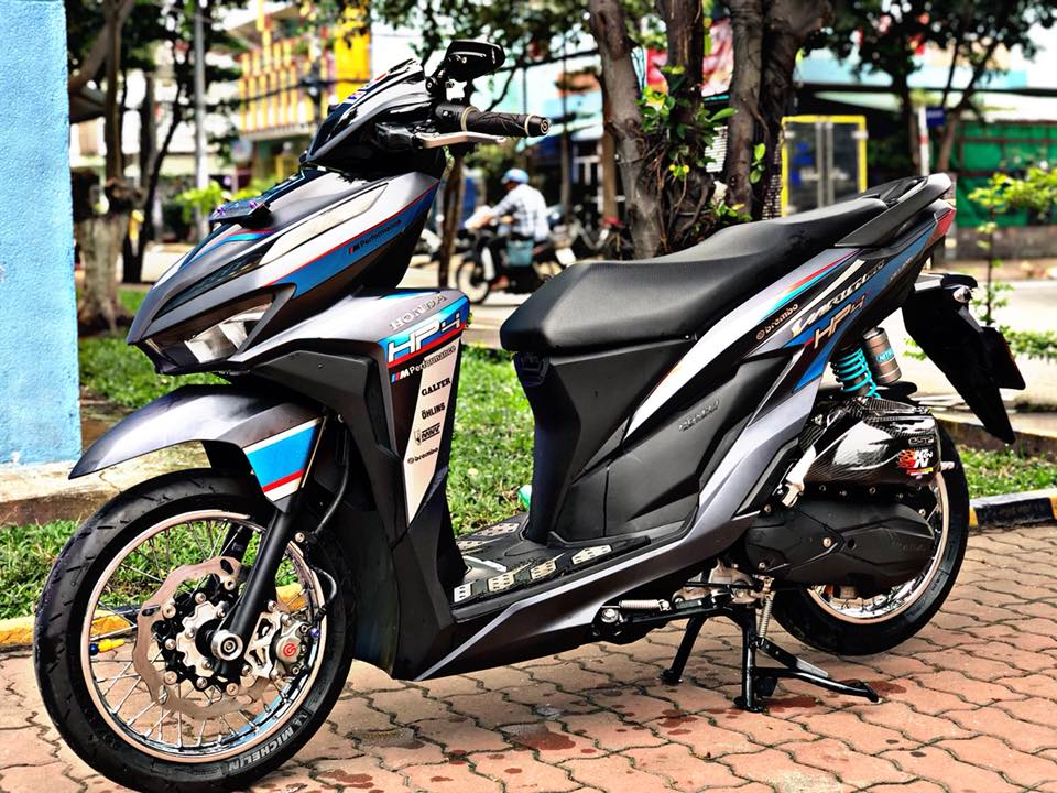 Vario 150 2018 do giam xoc Anh Quoc cung hoi tho MIVV lanh lung khoe dang giua pho