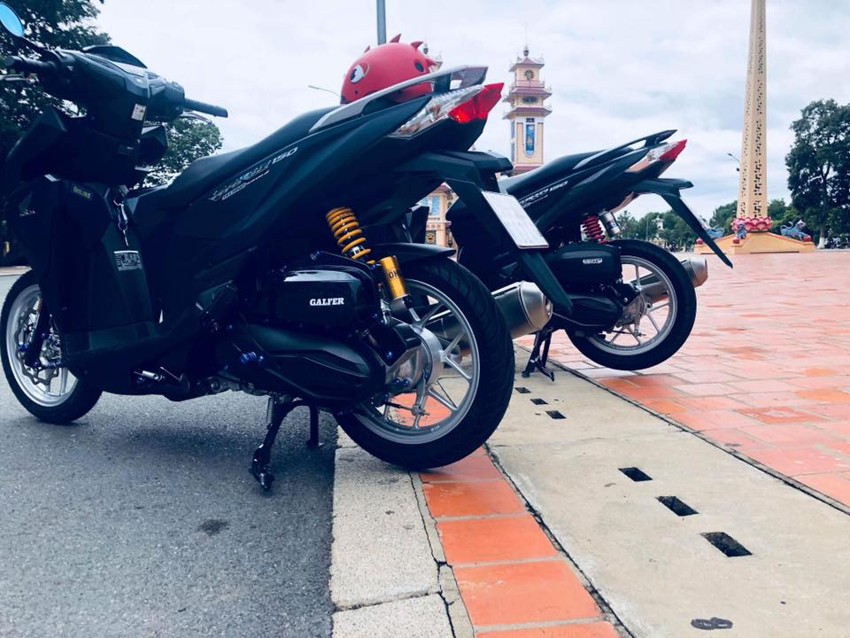 Vario 150 do khau than cong 4road cung dan do choi dat xat ra mieng - 10