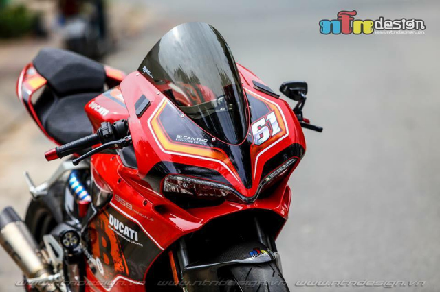 Ducati 959 Panigale do chat choi theo phong cach Bitcoin