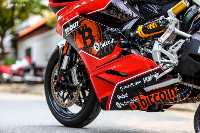 Ducati 959 Panigale do chat choi theo phong cach Bitcoin - 9