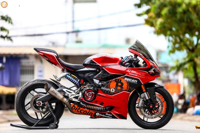 Ducati 959 Panigale do chat choi theo phong cach Bitcoin - 11