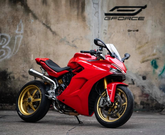Ducati SuperSport 939S do hao nhoang voi phong cach Superbike - 8