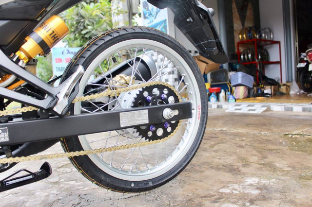 Exciter 150 do don nhe voi dan chan banh chi cuc dinh - 5
