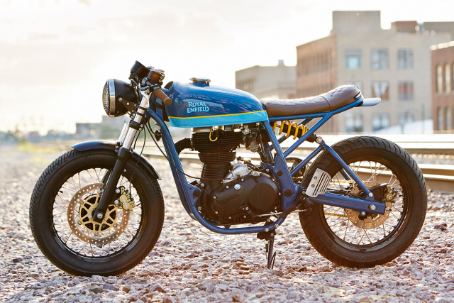 Royal Enfield Continental GT tuy chinh dac biet mang phong cach Cafe Racer