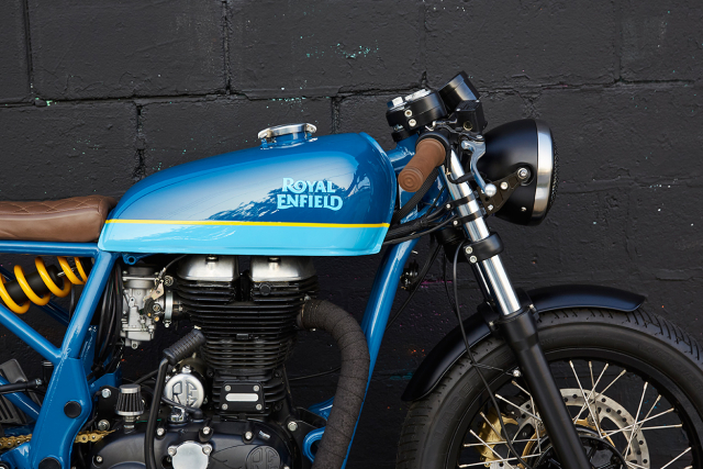 Royal Enfield Continental GT tuy chinh dac biet mang phong cach Cafe Racer - 6