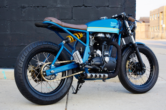 Royal Enfield Continental GT tuy chinh dac biet mang phong cach Cafe Racer - 10