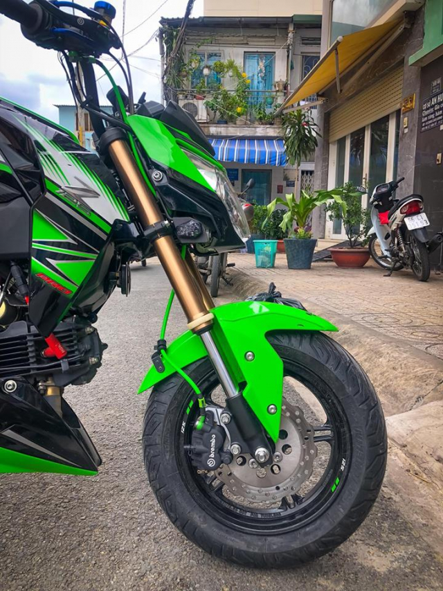 Z125 do don gian bang loat nang cap hang hieu doi moi - 6