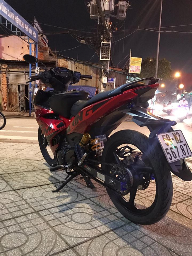 Exciter 150 do phong cach Jupiter MXKing Indonesia day an tuong - 6
