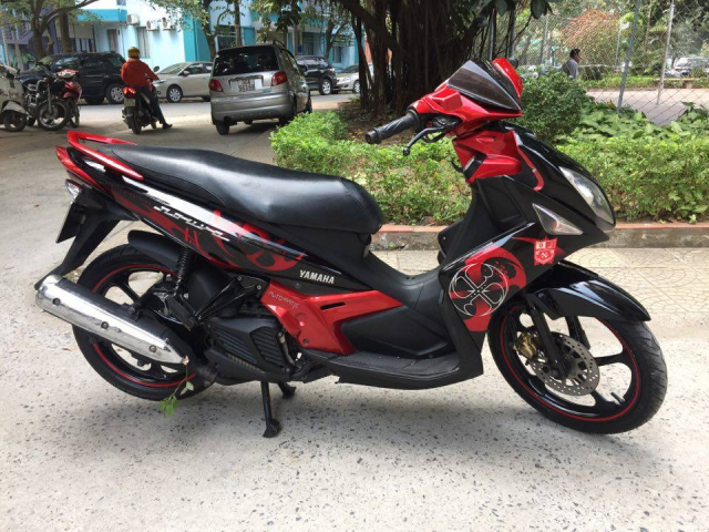 Rao ban xe Yamaha Nouvolx 135 Limited do den rat moi may chay cuc phe