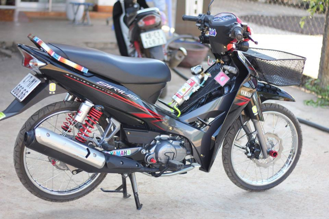 Sirius 110 do hoi tho toc do cua biker Krong Pak - 9