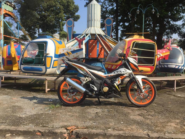 Sonic 150 do trang bi bo mam Daytona cam sac so - 6