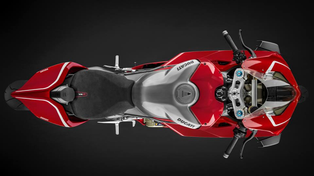 Ducati V4R Panigale 2019 ra mat voi bo canh Carbon dac trung moi - 6
