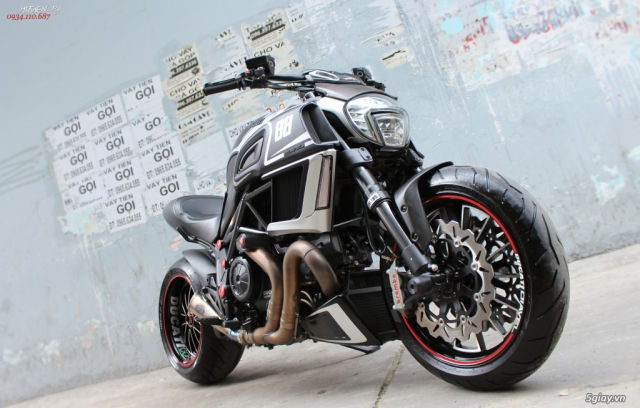 ___ Can Ban ___DUCATI Diavel 1200cc ABS 2015 Keyless___