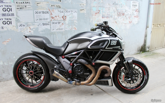 ___ Can Ban ___DUCATI Diavel 1200cc ABS 2015 Keyless___ - 6