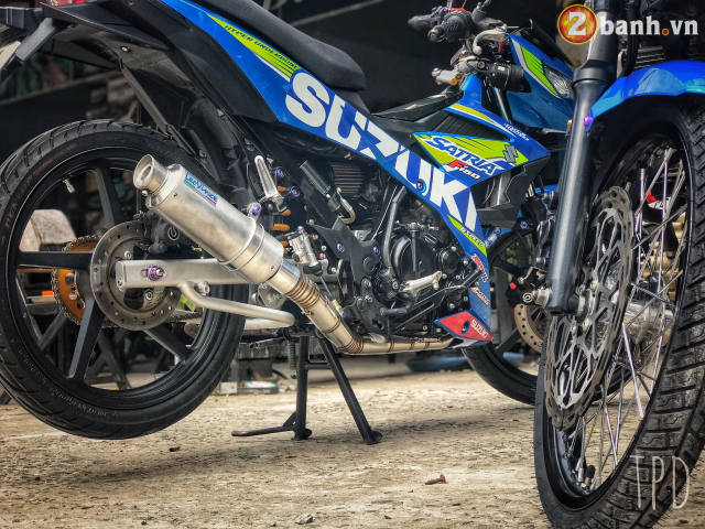 Satria F150 do option vu khi hang nang cua Biker Viet - 5