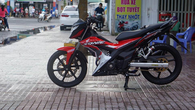 Sonic 150 do king of voi loat do choi chat luong cua biker Tien Giang - 8