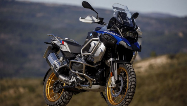 BMW R1250GS va R1250GS Adventure ra mat tai An Do voi gia tu 549 trieu VND