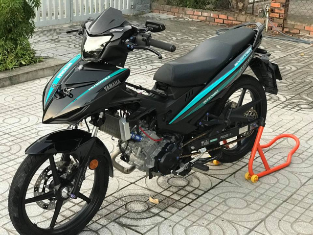 Exciter 150 do an tuong voi dan chan Brembo chat den tung luong - 3