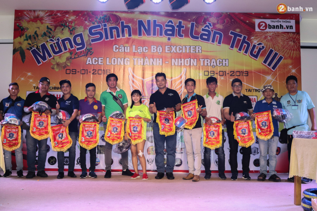 Nhin lai chang duong 3 nam hoat dong cua Club Exciter ACE Long Thanh Nhon Trach - 22