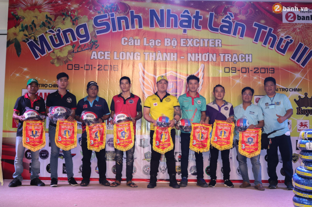 Nhin lai chang duong 3 nam hoat dong cua Club Exciter ACE Long Thanh Nhon Trach - 23