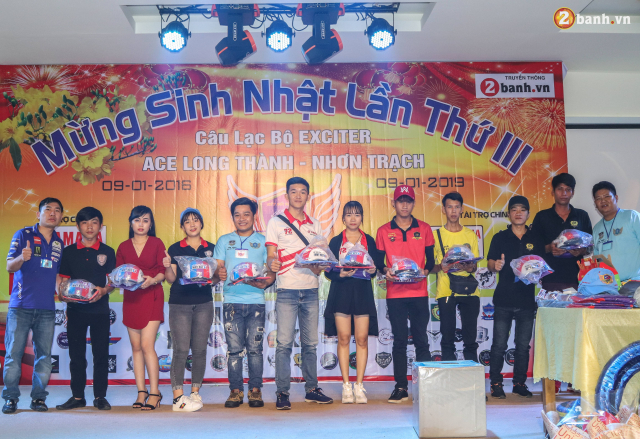 Nhin lai chang duong 3 nam hoat dong cua Club Exciter ACE Long Thanh Nhon Trach - 34