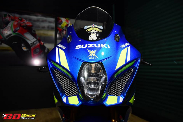Suzuki GSXR1000 chan dung ban do chat choi den tu BD Speed Racing - 4