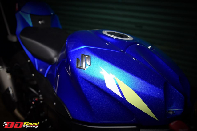Suzuki GSXR1000 chan dung ban do chat choi den tu BD Speed Racing - 6
