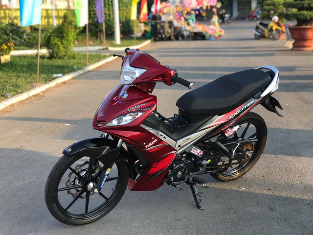 Exciter 135 do ban nang cap so huu cum dong ho Z1000