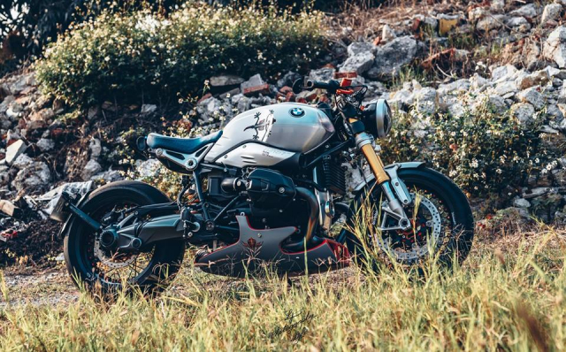 BMW RnineT do chat choi mang dam thiet ke Cafe Racer tan thoi - 8