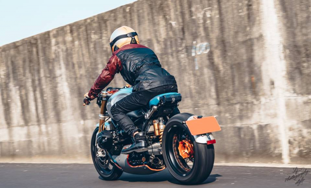 BMW RnineT do chat choi mang dam thiet ke Cafe Racer tan thoi - 18