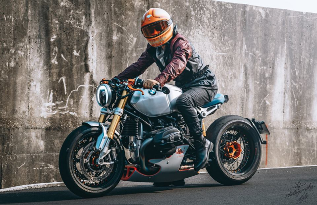 BMW RnineT do chat choi mang dam thiet ke Cafe Racer tan thoi - 20