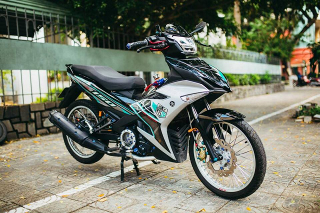 Exciter 150 do voi dan do choi DINH KHONG CAN CHINH - 8