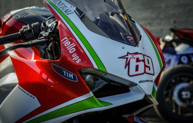 Ducati Panigale V4 Hayden Tribute phien ban dac biet tu dai ly voi gia hon 15 ty