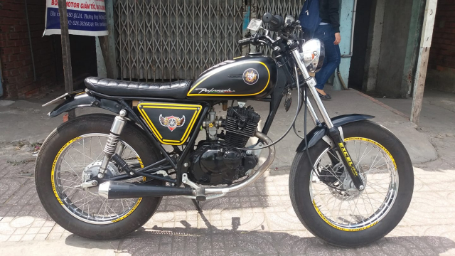 Moto gn125 up tracker - 2