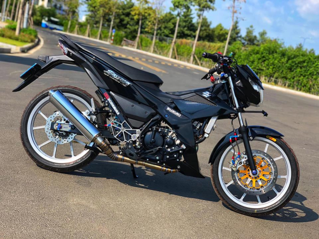 Can canh Satria 150 do cuc DINH xung danh KING OF