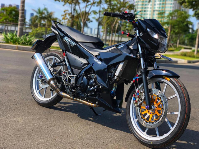 Can canh Satria 150 do cuc DINH xung danh KING OF - 18