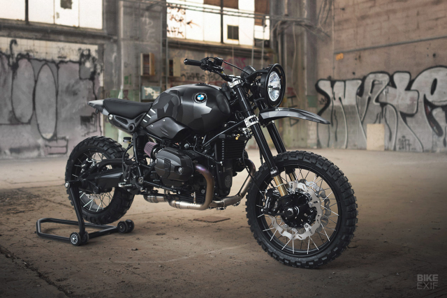 BMW RnineT do an tuong theo phong cach Scrambler voi dac danh THOR