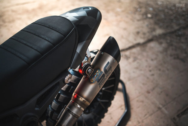 BMW RnineT do an tuong theo phong cach Scrambler voi dac danh THOR - 5