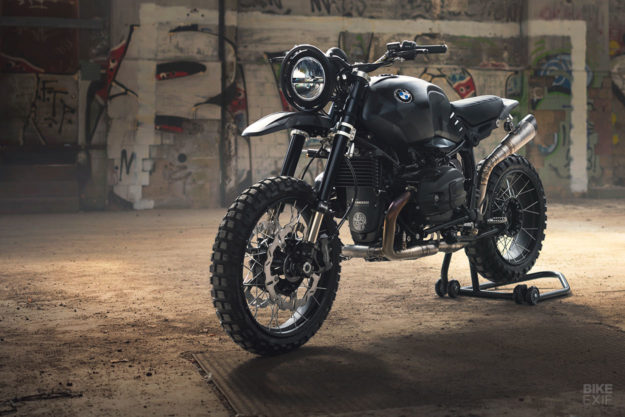 BMW RnineT do an tuong theo phong cach Scrambler voi dac danh THOR - 11