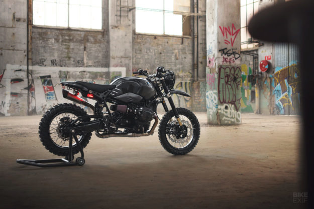 BMW RnineT do an tuong theo phong cach Scrambler voi dac danh THOR - 13