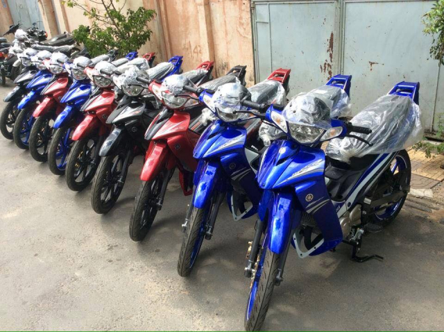 Chuyen thanh ly dong xe yaz 125cc gia re - 2