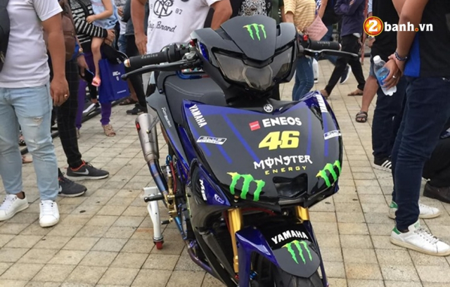 Ngam Exciter 150 do phien ban M15 Monster Energy tai Exciter Fest 2019