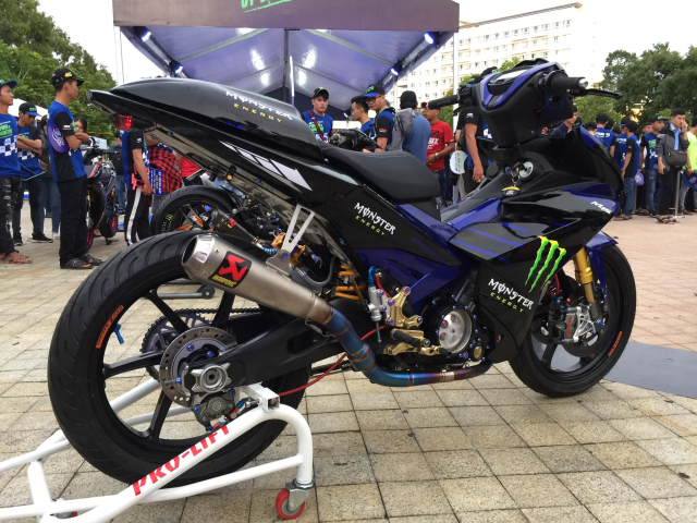 Ngam Exciter 150 do phien ban M15 Monster Energy tai Exciter Fest 2019 - 10
