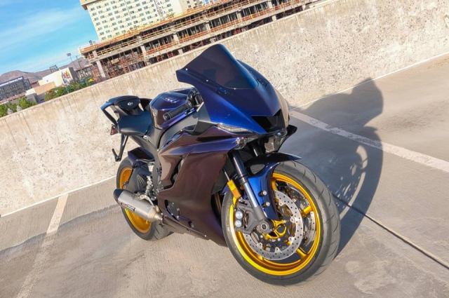Yamaha R6 do thuyet phuc voi body doi mau day chat choi - 4